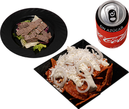 Envío Gratis: Chilaquiles Chicos + Coca-Cola