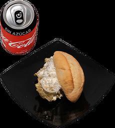 Envío Gratis: Torta Chilaquilli Sencilla + Coca-Cola Sin Azúcar