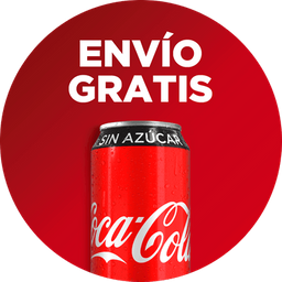 Envio Gratis: Hamburguesa Sencilla + Coca-Cola 355ml