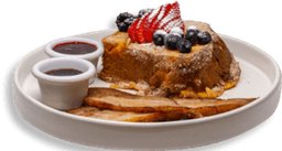 French Toast con Frutos Rojos