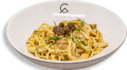 Spaghetti con Setas