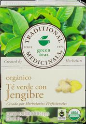 Te Organico De Jengibre Traditional Med 24 g