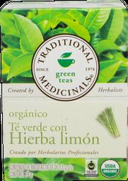 Te Verde Con Hierba De Limon Traditional Med 24 g