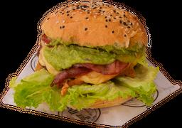 Guacamole bacon burger 6 onzas