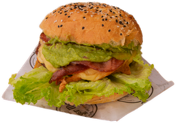 Guacamole Bacon Burger 150 grs