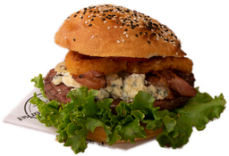 Blue Cheese & Onion Burger 150 grs