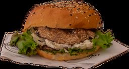 Portobello Goats Cheese Burger