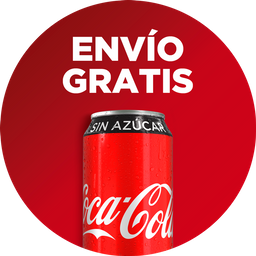 Envio Gratis: Wings Rebel 10 + Coca-Cola Sin Azúcar