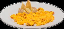 Desayuno de  Huevos con Chorizo