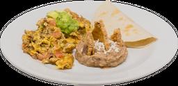 Desayuno de Huevos a la Mexicana