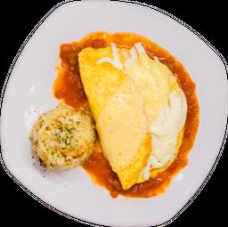 Desayuno de Omelette Tres Quesos