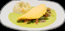 Desayuno de Omelette de Champiñones
