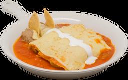 Desayuno de Enchiladas Pipián Verde