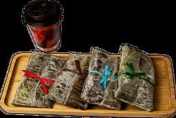 Combo Tamal con Café ó Chocolate