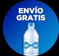 Envío Gratis: Siciliana 35cm + Agua Natural Ciel