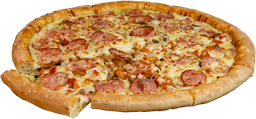 Pizza Alfredo Delight Grande Masa NY