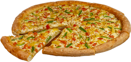 Pizza Caribeña Grande Masa NY