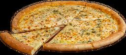 Pizza Spinach Alfredo Grande Masa NY