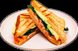 Sándwich Ligero Vegetariano