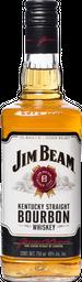 Jim Beam Whisky Kentucky Straight Botella