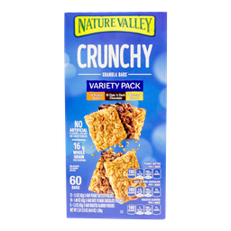 Barra de Cereal Nature Valley Variety Pack 60 U