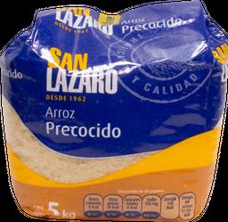 Arroz Precocido San Lazaro 5 Kg