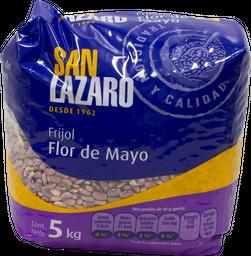 Frijol San Lázaro Flor De Mayo 5 Kg