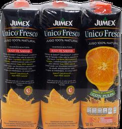 Jugo Jumex Único Fresco Naranja 1 L x 6