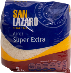 Arroz Super Extra San Lazaro 5 Kg