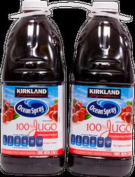 Jugo de Arandanos Ocean Spray 100% Jugo 2.84 L x 2
