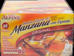 Bebida en Polvo Alpine Manzana Original 60 U