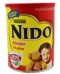 Leche en Polvo Nido Kinder 1 a 3 Años 2.5 Kg