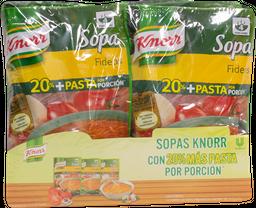 Sopa Knorr Surtida 115 g X 10