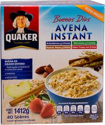 Quaker Avena Instantanea Varios Sabores