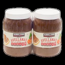 Crema De Avellanas Kirkland  Signature 1 kg x 2 U