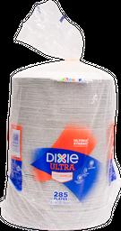 Plato Desechable Dixie Capacidad 21.5 cm 285 U