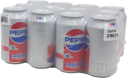 Refresco Pepsi en Lata 355 mL x 12