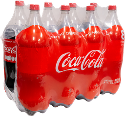 Refresco de Coca Cola  2.5 L x 8
