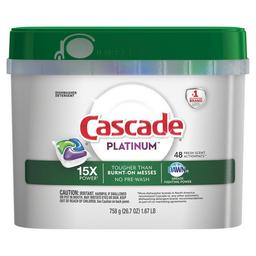 Lavavajilla Cascade Platinum 48 U