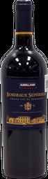 Bordeaux Superieur Vino Tinto 750 mL Kirkland Signature