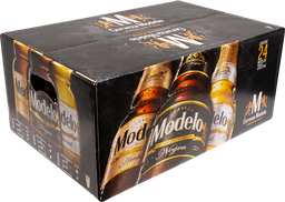 Cerveza 24 Botellas De 355 mL Modelo Premium Pack