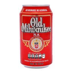 Cerveza Sin Alcohol 24 Latas De 355 mL Old Milwaukee