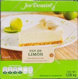 Pay Helado Jon Donaire de Limón  1.08 Kg