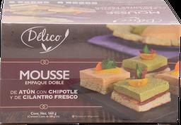 Mousse Délico Atún con Chipotle  y Cilantro Fresco 280 g x 2