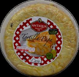 Tortilla Española  Antiqua De Papa  Con Cebolla 750 g