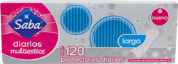 Pantiprotector Saba Largos 120 U