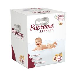 Huggies Supreme Platino Etapa 2 Unisex 120 U