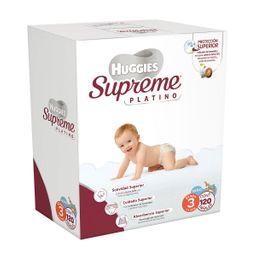 Huggies Supreme Platino Etapa 3 Niño 120 U