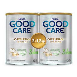 Fórmula Infantil Good Care Etapa 3 Optipro 1.2 Kg x 2