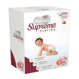 Huggies Supreme Platino etapa 3 niña 120 U